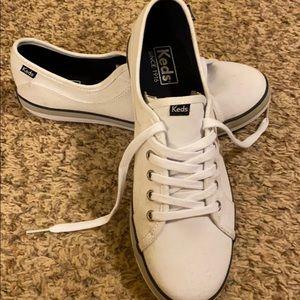 White Keds tennis shoes
